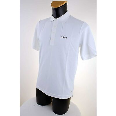 CHERVO Golf Herren Poloshirt Polo Hemd DRYMATIC Abez weiß 100 1b