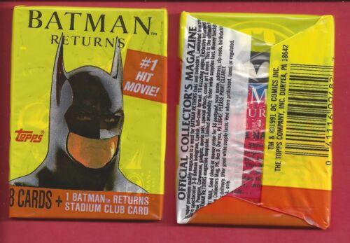 Batman 1989 DC Comics Merlin Sticker # 7 C359