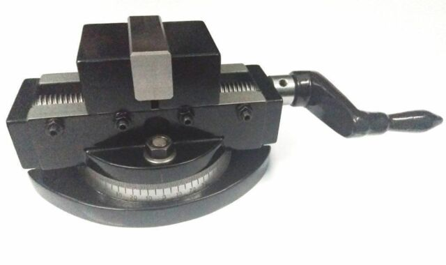 "Self Centering 2/"" Milling Machine Vice Swivel Base 50mm Vise Alloy Steel PREMIUM"