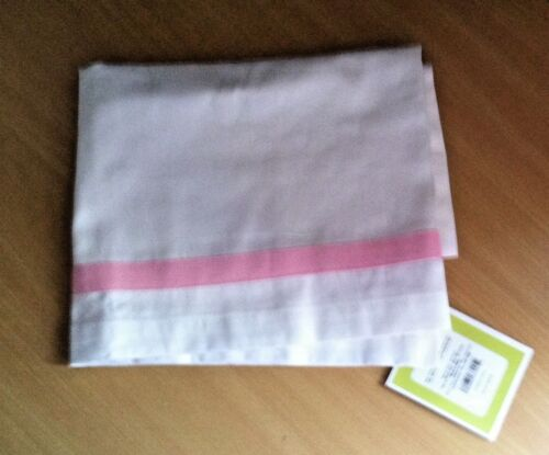 """CIRCO WINDOW VALENCE CURTAIN SIZE 42 X 15 /""""PINK /& WHITE/"""" NWT REDUCED"""