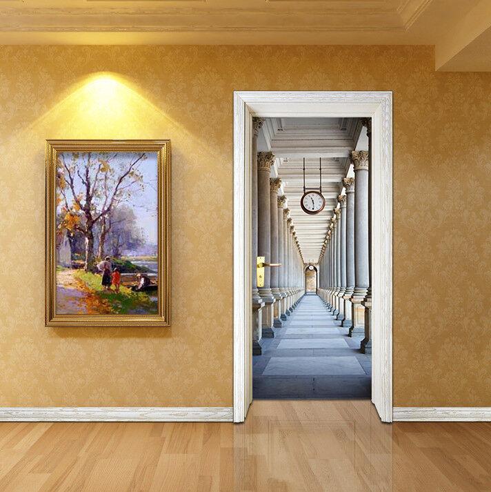 3D Korridor Korridor Korridor 72 Tür Wandmalerei Wandaufkleber Aufkleber AJ WALLPAPER DE Kyra | Spielzeugwelt, glücklich und grenzenlos  | Ausgezeichneter Wert  |  46ceb0