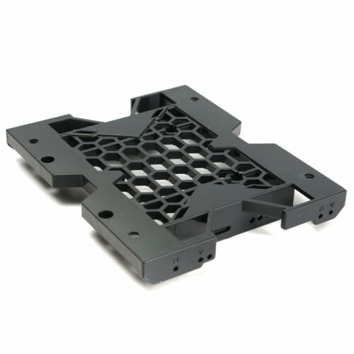 """1PCS 5.25/"""" to 3.5/"""" 2.5/"""" SSD Hard Drive Adapter TRAY with Screws can mount Fan"""