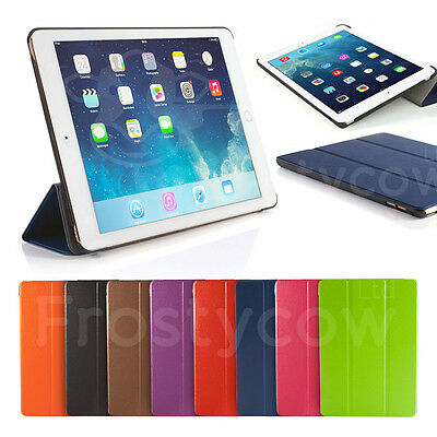 Ultra Slim Magnetic Smart Case Cover For Apple iPad 6 - Air 2 - 2014 Release