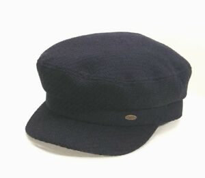 056ee7868d340 O Neill SKIPPER Womens Wool Blend Knit Captain Hat Navy NEW ...