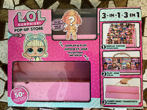 Lol Surprise Pop Up Store 3 In 1 Display Carrying Case L O L Doll Mga Chop Ebay