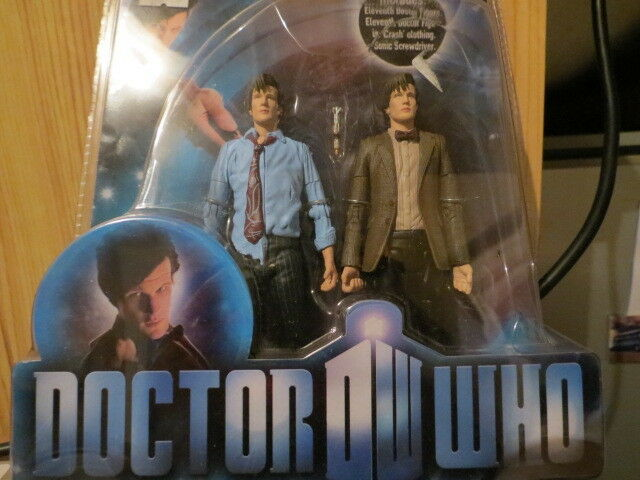 Doctor Who  - Matt Smith The Eleventh Doctor's Crash Figure Set - FACTORY SEALED