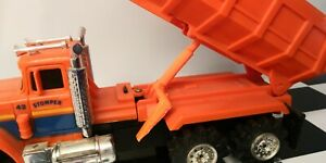 1-Yellow-or-Orange-Schaper-Stomper-Truck-Dump-Bed-LEVER-SWITCH-3D-Printed