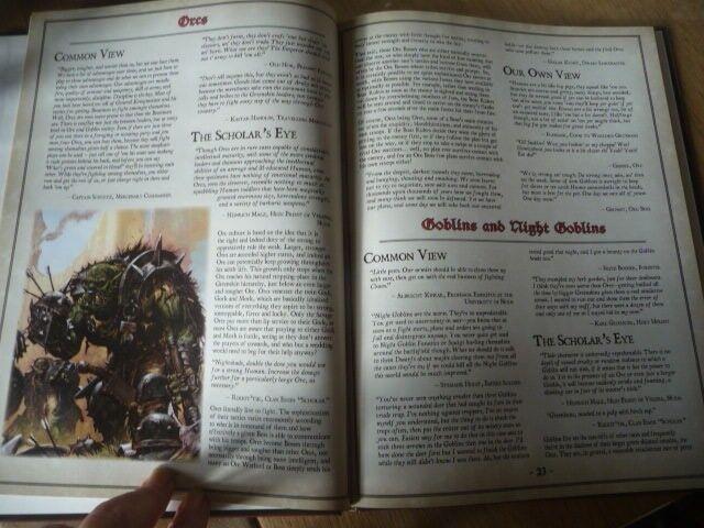 Warhammer Old world Bestiary, Chris Pramas, genre: