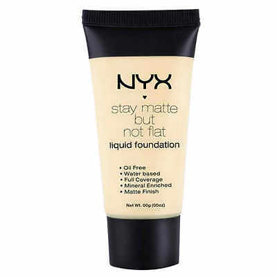 NYX Stay Matte Not Flat Liquid Foundation-IVORY SMF01
