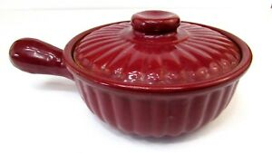 Vintage Shawnee Pottery COVERED CASSEROLE DISH Skillet 1950's