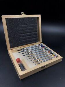 Set-9-tournevis-horloger-screwdrivers-Watchmaker