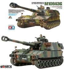 M109A3G TAMIYA 37022 Italeri No.22 1/35 Model Kit Carro armato Tanks Nuovo New