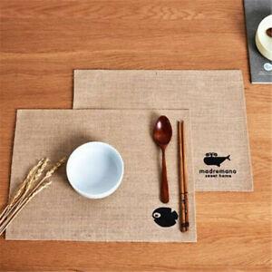Braid-Non-Slip-Heat-Insulation-Tableware-Mat-Pad-Placemat-Dining-Hotel-Decor-BS