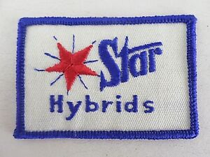 Star-Hybrids-Seeds-Uniform-Farm-Jacket-Patch-New-Vintage-3-034-X-2-034
