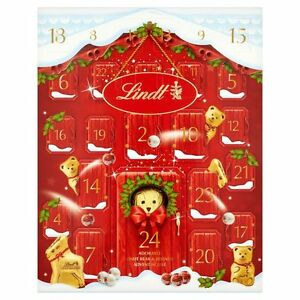 Advent Calendar Lindt Bear Christmas Countdown 250g Chocolates | eBay