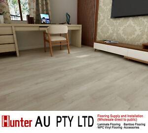 12mm Laminate Flooring Lime Oak Color Click Lock Floorboards Sample Ebay