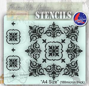 Mylar-Furniture-Stencil-Mandala-Wall-Stencil-Shabby-Chic-French-Stencil