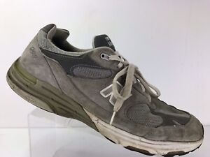 new product be0c1 2a2bd Details about New Balance 993 Grey Athletic Running Shoes USA Men's Sz 14 D  MR993GL