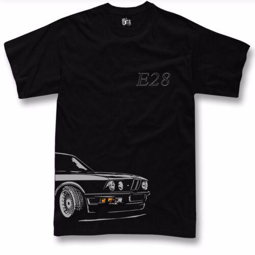 manches longues T-Shirt Pour BMW e28 fans M5 520 525 M535 T-shirt