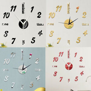 Am-KF-3D-Mirror-Numbers-Letters-Wall-Clock-Sticker-DIY-Analog-Home-Art-Hanging
