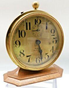Westclox-Big-Ben-Deluxe-Antique-Alarm-Clock-Serviced-Runs-Well