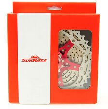 SUNRACE MX3 10 Speed Mountain Bike Cassette 11-40, Red