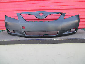 07 09 toyota camry front bumper cover oem 2007 2008 2009 camry le ebay. Black Bedroom Furniture Sets. Home Design Ideas