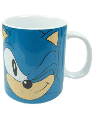 NEW OFFICIAL SONIC THE HEDGEHOG WINK GIANT LARGE COFFEE MUG CUP BOX