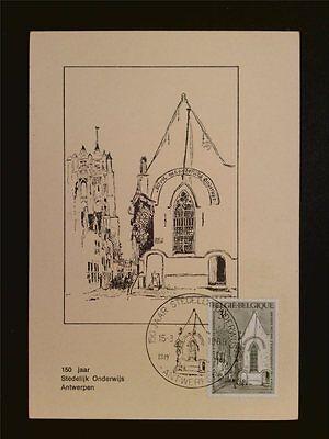 UnermüDlich Belgien Mk 1969 Broodjeskapel Antwerpen Maximumkarte Maximum Card Mc Cm C7729 Briefmarken