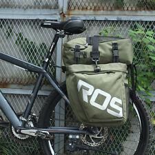 ROSWHEEL Bicycle Waterproof Travel Pannier Rear Seat Detachable Trunk Bag Green
