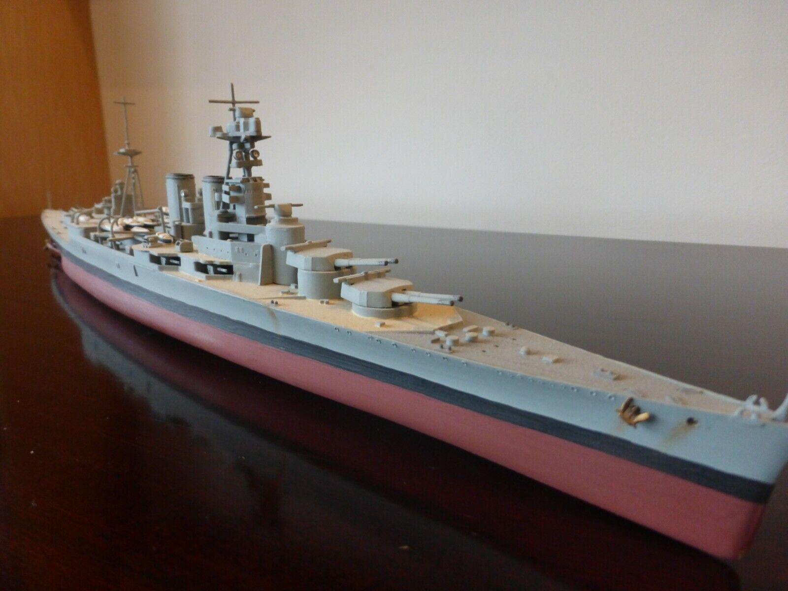 Airfix 1 600th Scale HMS HOOD - Built