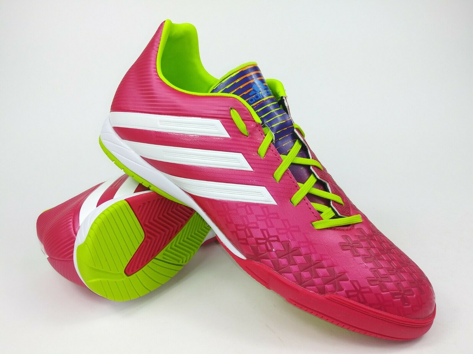 Adidas Mens Rare P Absolado LZ IN F32591 Pink White Indoor Soccer shoes Boots