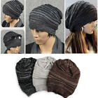 Punk Lady Women Men Warm Winter Baggy Beanie Knit Crochet Slouch Oversized Hat