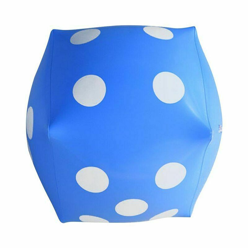 Dice Inflatable Balloon Toy Party Air Cube Swimming Pool Toys Indoor Outdoor PVC