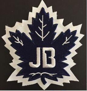 af3e6aa4d09 TORONTO MAPLE LEAFS JOHNNY BOWER TRIBUTE PATCH  1 NHL PUCK STYLE ...