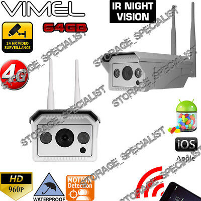 3G Security Camera 8G Wireless GSM Trail Farm Remote Monitor Scout Night Vision