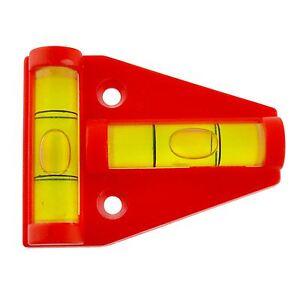 Inventif Mini Niveau à Bulle Niveleur Pour Remorques Caravane Moteur Maison Travail Bancs 2 Way-afficher Le Titre D'origine