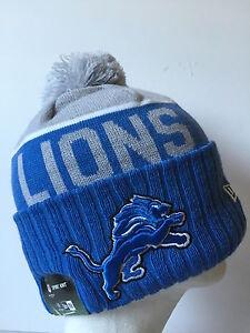 0ba0285e6 2015 NFL Detroit Lions NEW ERA SIDELINE ON FIELD SPORT KNIT Cap ...