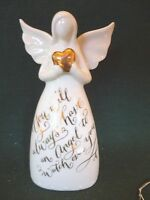 you Will Always Have An Angel To Watch Over You Porcelain Figurine Bell