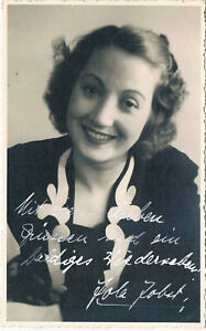 Free shipping and installation Jola Jobst 1915-52/53 autograph ...
