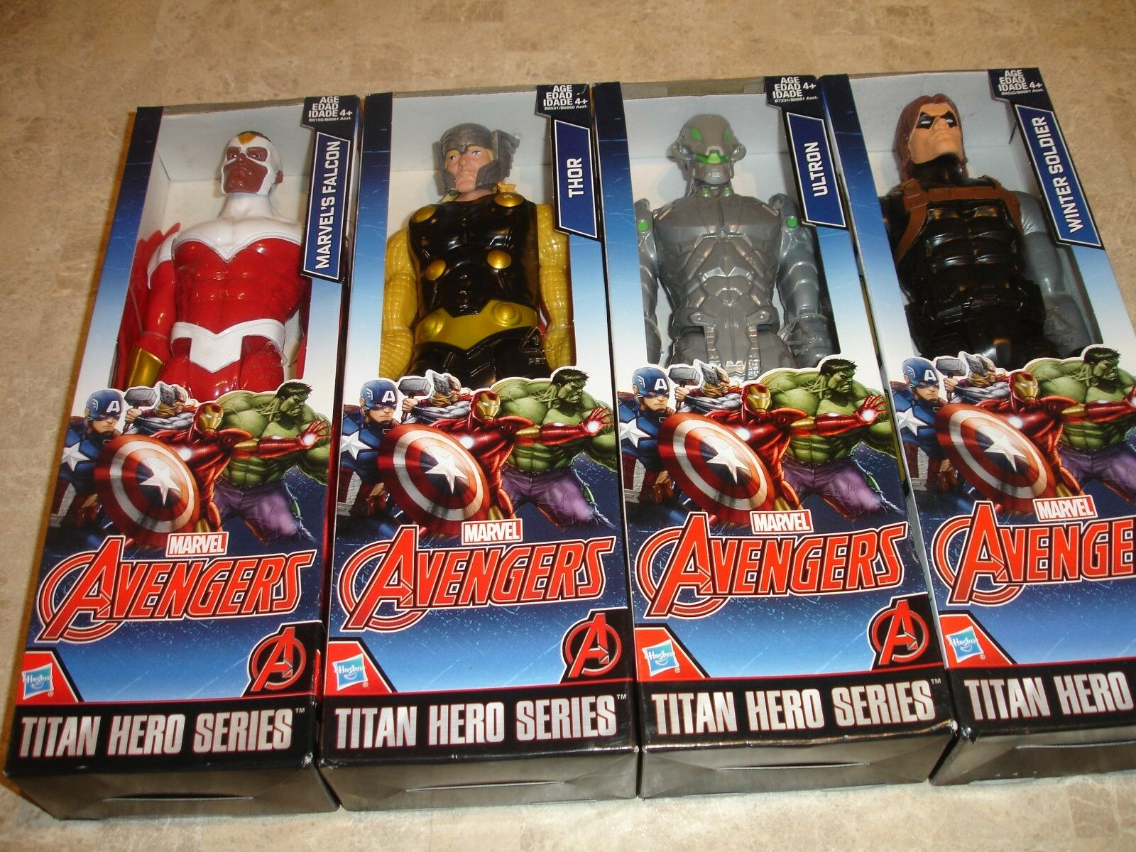 Marvel avengers - titan held serie - hasbro action - figuren
