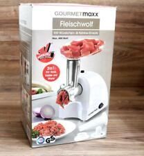 Gourmetmaxx Fleischwolf 3in1 Mit Wechselrichtungsfunkton Gunstig Kaufen Ebay