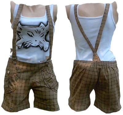 Hot Pants Rockabilly Punk Rock Baby PHAT SKA BERMUDA Short Hose Hosenträger XS//S