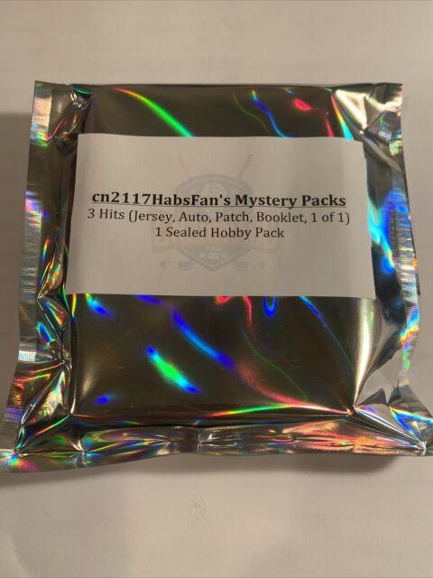 Cn2117HabsFan's Mystery Packs 3 Hits 1 Sealed Hobby Pack! NO BASE NO INSERTS