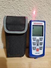 Euc Genuine Westward 38yg97 Laser Distance Measurer Meter Upto 180 Ft Withcase