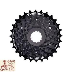SHIMANO-CS-HG200-HYPERGLIDE-7-SPEED-12-32T-BLACK-MTB-BICYCLE-CASSETTE