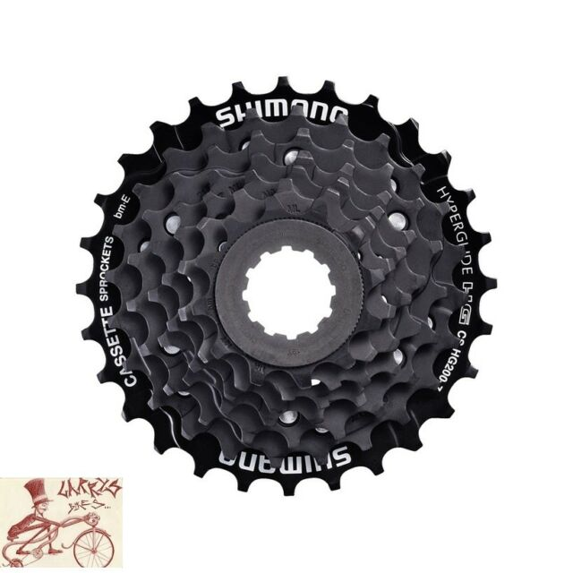 New Acera CS-HG200-9 MTB HYPERGLIDE 9-speed Cassette 11-32T Zinc Steel