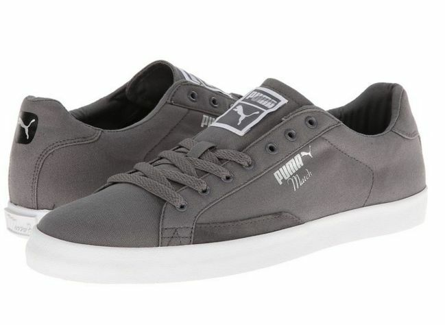 PUMA 35783602 MATCH VULC CVS FS Mn's (M) Grey White Fabric Lifestyle shoes