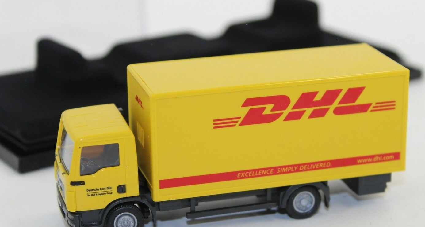 Wiking 774 27 camion camion camion boîte MAN TGL Contrôle 87 DHL 1:87 neuf emballage d'origine | 2019  119d66