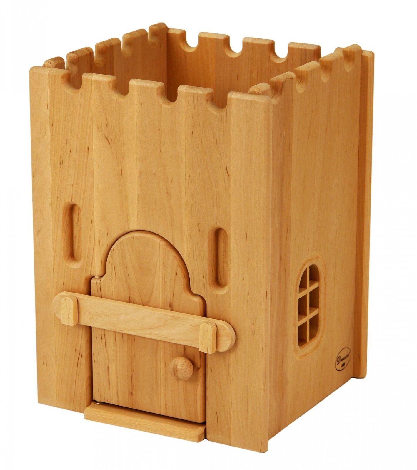 Drewart Gefängnis 932-1100 aus edlem Erlenholz für Ritterburg aus Holz 932-1100 Gefängnis 4f05ee
